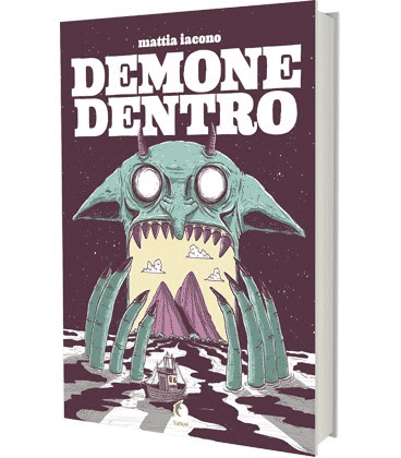"""""""Demone Dentro"""": il primo graphic novel di Mattia Iacono"""