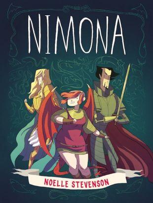 """Nimona"" di Noelle Stevenson: ragazze-mostro al potere!"
