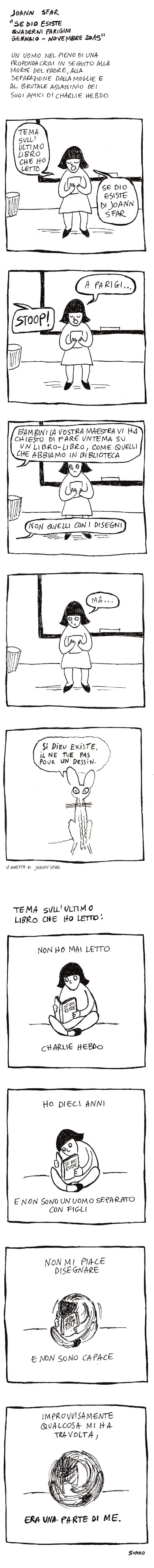 """""""Se Dio esiste"""": Sfar recensito a fumetti da Sonno"""