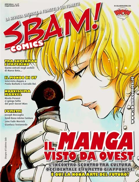È disponibile il nr. 27 di Sbam! Comics