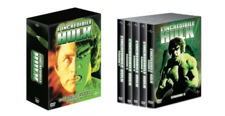 L'incredibile Hulk - arriva la collezione definitiva in DVD