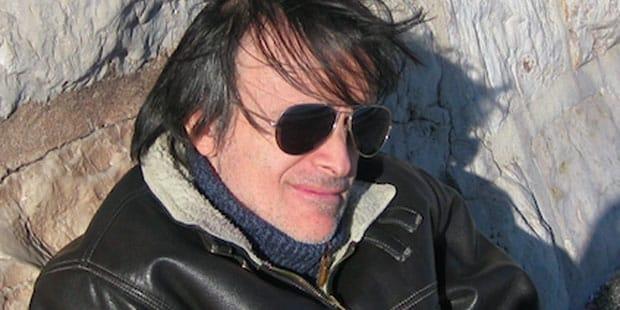 Claudio Chiaverotti al lavoro per Edizioni Inkiostro.