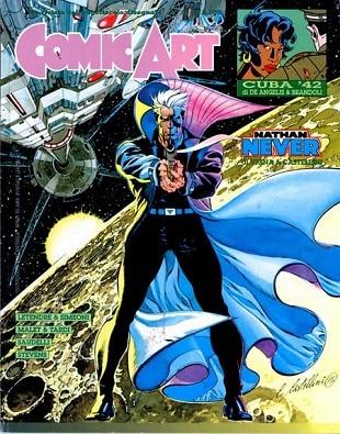 Copertina di Comic Art #85, contenente una storia breve di Bepi Vigna e Claudio Castellini.