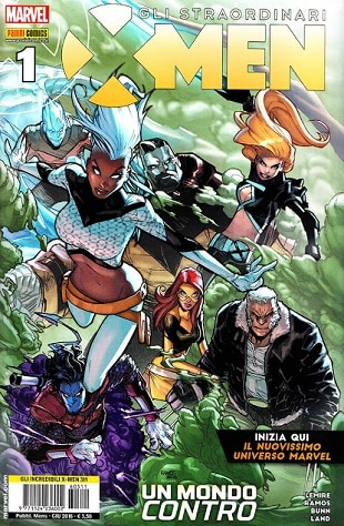 Gli straordinari X-Men #1 (Lemire, Ramos, Bunn, Land)_BreVisioni