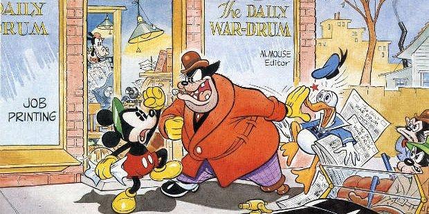 Alla scoperta del Mickey Mouse a strisce: 1930-1936
