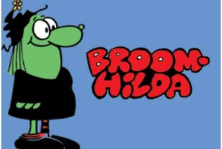 Broom Hilda dalle strisce al grande schermo