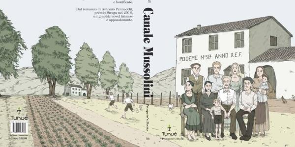 """Il fumetto tratto da """"Canale Mussolini"""" arriva in Francia"""