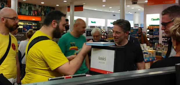 Leo Ortolani incontra i fan. Foto di Gianluigi Filippelli
