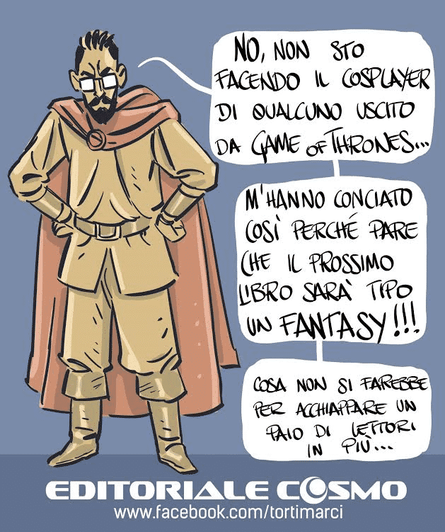 Editoriale Cosmo: ecco il primo volume a fumetti di Torti Marci