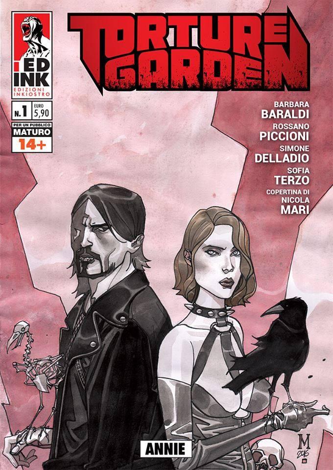 La variant cover di Giulio Rincione per Torture Garden #1