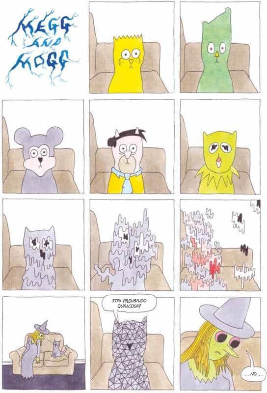 Megahex: la gioventù bruciata di una strega, un gatto e un gufo