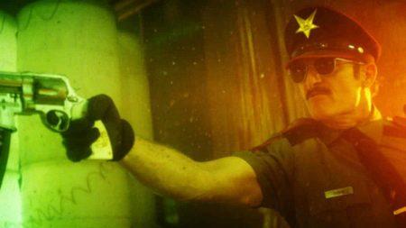Kim Coates è il protagonista di Officer Downe.
