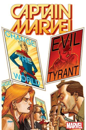 Nuova serie per Capitan Marvel nel 2017