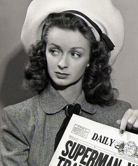 "Addio a Noel Neill, fu Lois Lane in ""Adventures of Superman"""