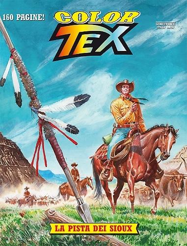 Color Tex #9 - La pista dei Sioux (Faraci, Milano)