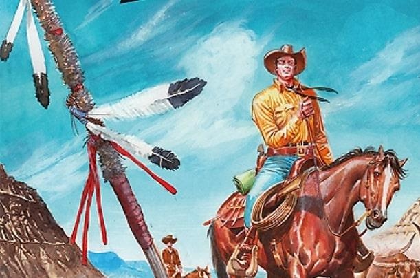 Color Tex #9 – La pista dei Sioux (Faraci, Milano)