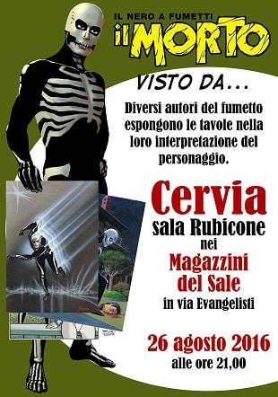 """Inaugurazione della mostra """"Il Morto visto da …"""" a Cervia"""