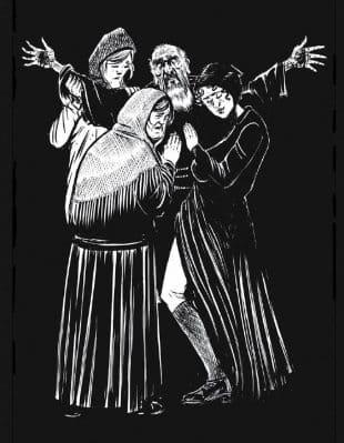 """""""Il Pio Padre"""", una spassosa avventura violenta e blasfema"""