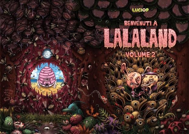 Benvenuti a Lalaland #2 di Luciop: la cover in anteprima