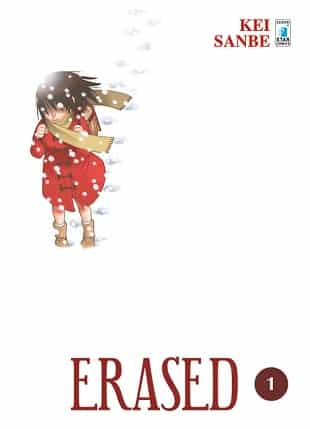 Erased di Kei Sanbe disponibile da settembre