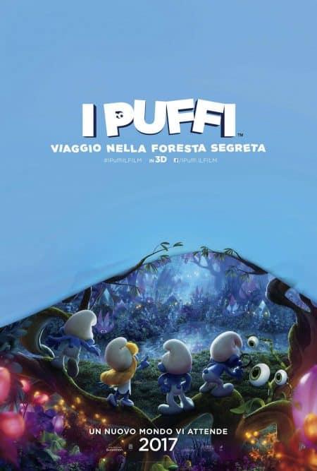 I Puffi – Viaggio nella Foresta Segreta: Teaser poster e teaser trailer italiani