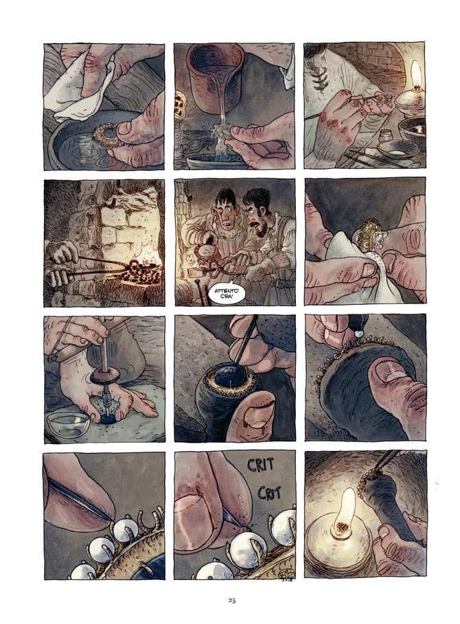 La Vita a fumetti di Benvenuto Cellini