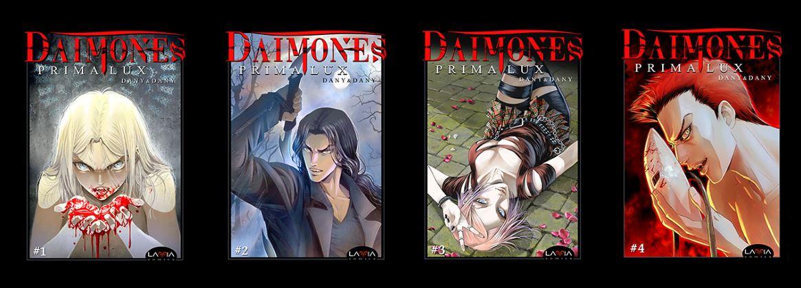 """Torna """"Dàimones"""", fumetto a tema gotico da Dany&Dany"""