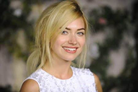 Image #: 14957881    Actress Imogen Poots attends MIU MIU presents Lucrecia...