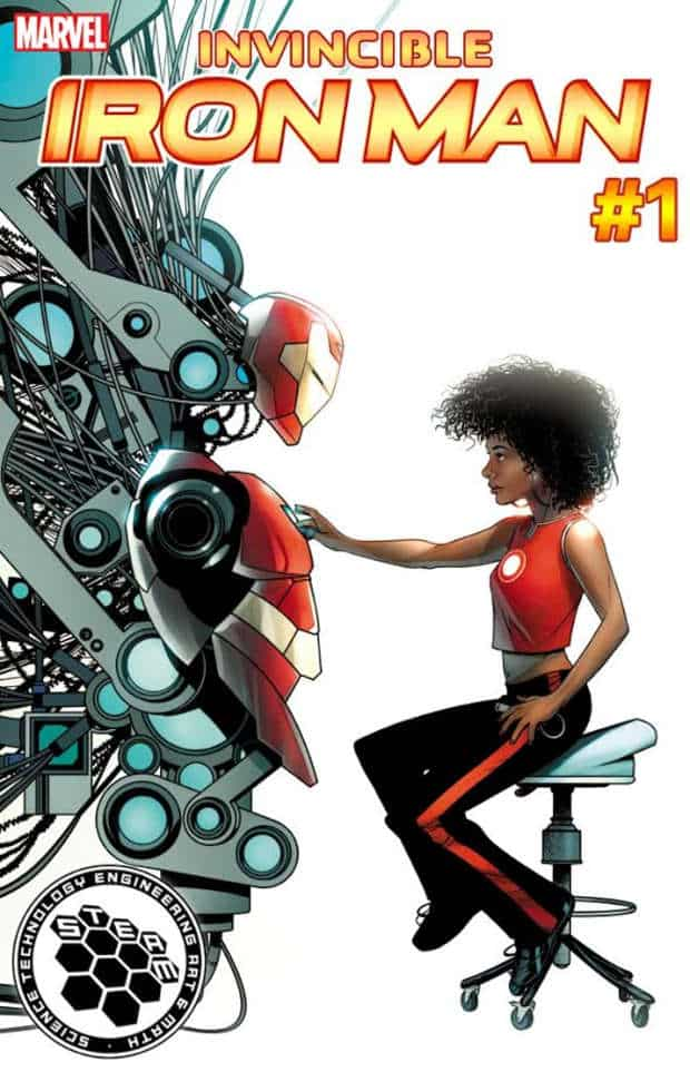 Le variant cover Marvel di novembre celebrano la scienza