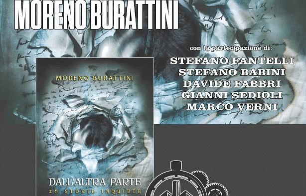 """Moreno Burattini a Bologna con """"Dall'Altra Parte: 26 storie inquiete"""""""