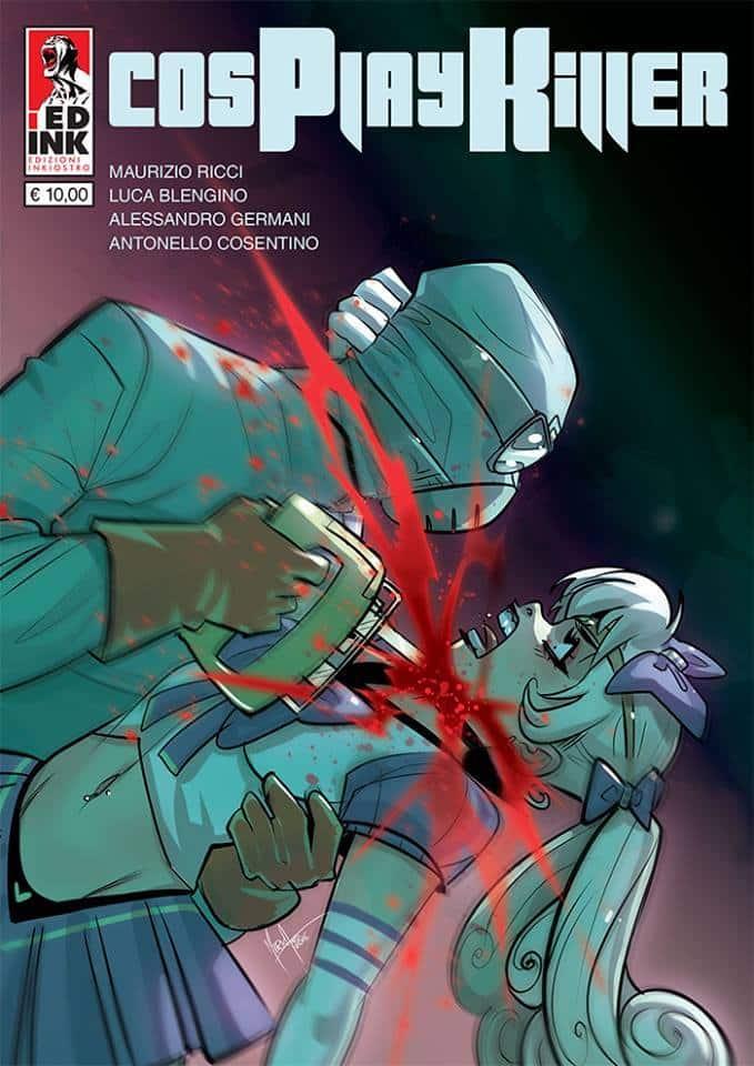 Mirka Andolfo per la cover di Cosplay Killer