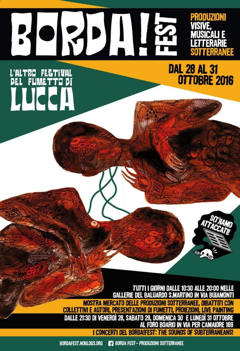 L'altra Lucca Comics: BORDA Fest - Produzioni Sotterranee