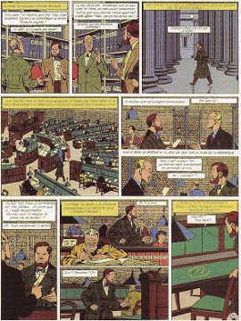 Tavola tratta da: Il marchio giallo (1953).