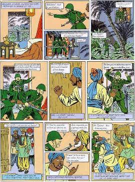 Tavola tratta da: Il segreto dell'Espadon (1946/1950)