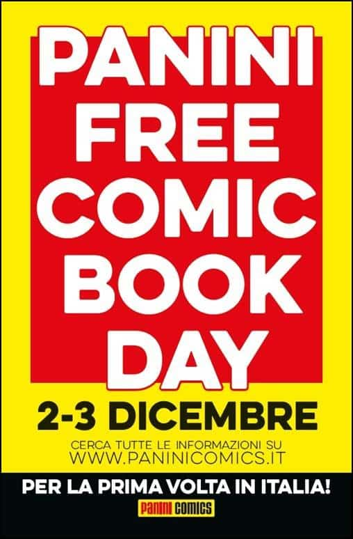Arriva il Panini Free Comic Book Day