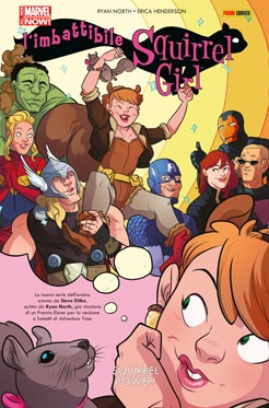L'imbattibile Squirrel Girl #1 - Kicking butts and eating nuts
