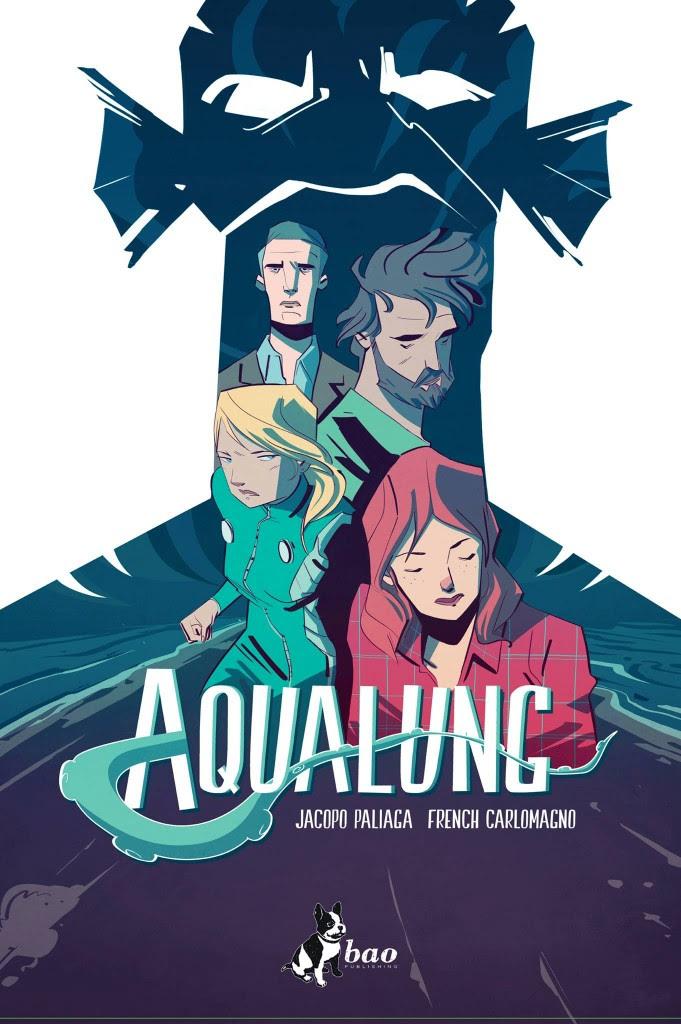 In libreria arriva la prima stagione di Aqualung di Paliaga – Carlomagno.