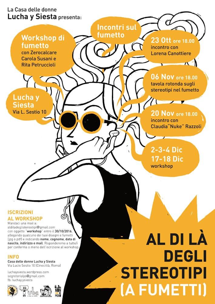 Fumetto e stereotipi: un ciclo di incontri a Roma