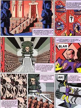 Tavola tratta da: Il raggio U (1943/1974).