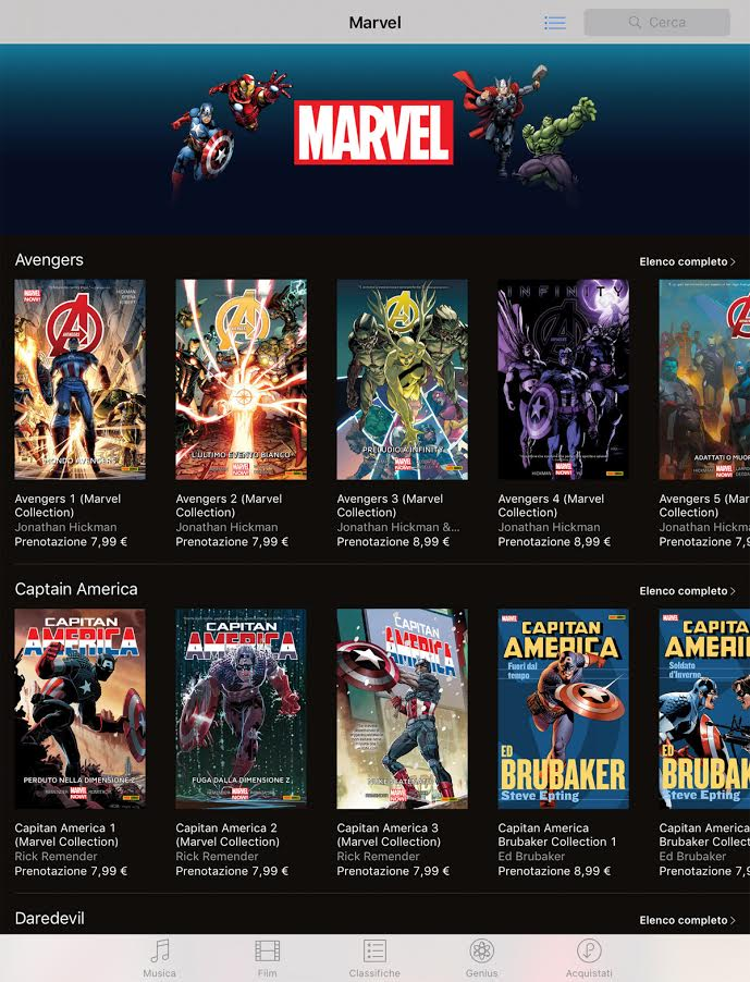 Panini Comics e Marvel Comics lanciano gli ecomics in italiano