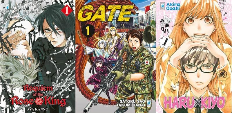 Le ultime uscite manga da Star Comics