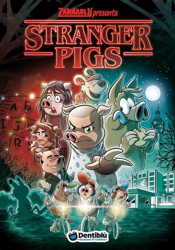 """Zannablù torna negli anni '80 con """"Stranger Pigs"""""""