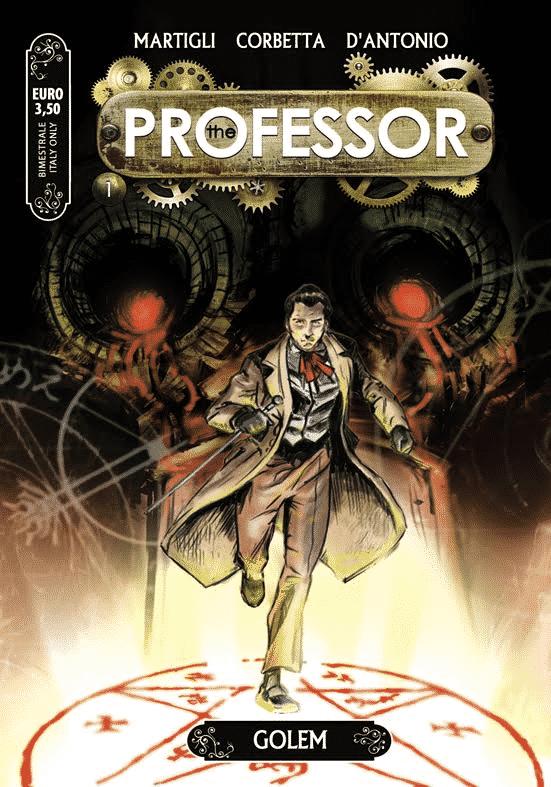 """Dal 28 ottobre """"The professor"""" #1 in tutte le edicole"""