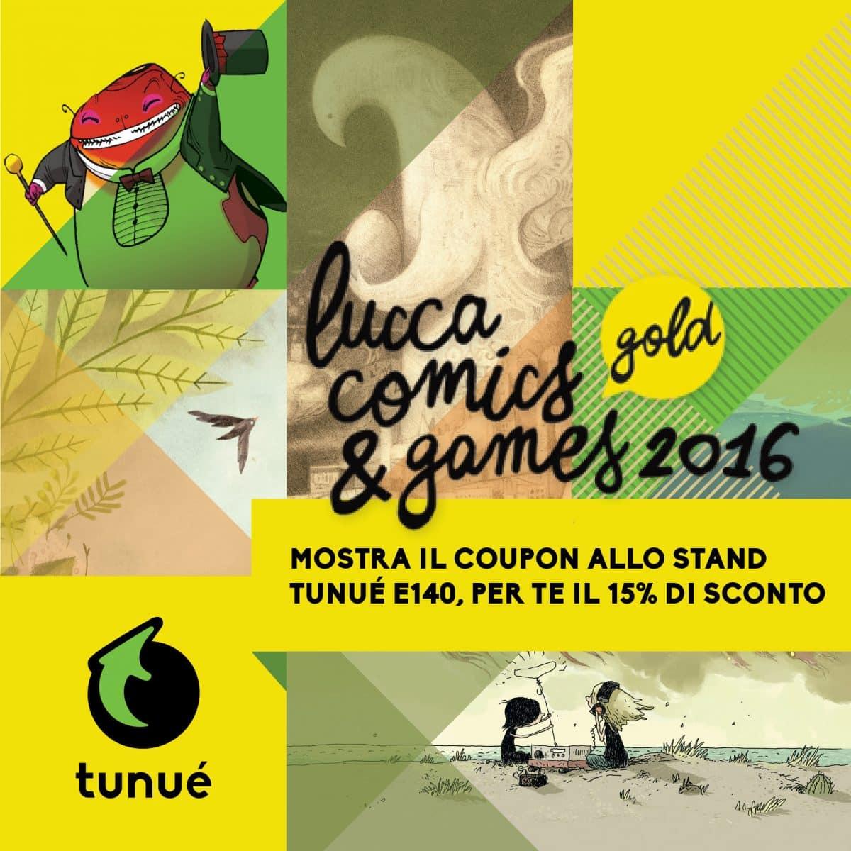 Tunué a Lucca Comics & Games 2016