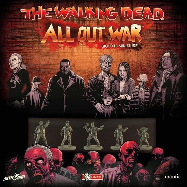 Arriva in Italia il gioco di miniature di The Walking Dead