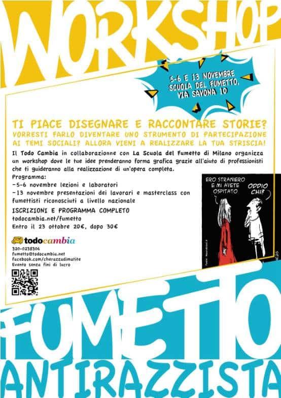 workshop_fumetto_antirazzista_locandina