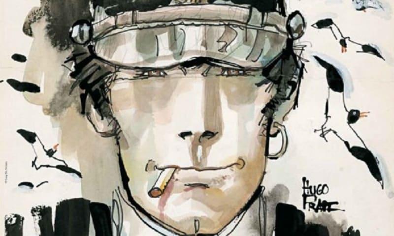 """""""Orizzonti di Carta – I fumetti di Hugo Pratt"""" in mostra da Alessandro Distribuzione"""