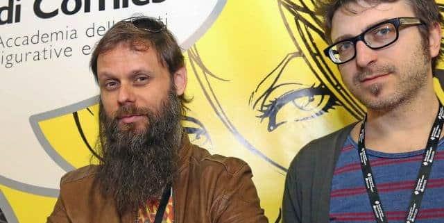 Casali e Camuncoli: incontro a Lucca Comics 2016
