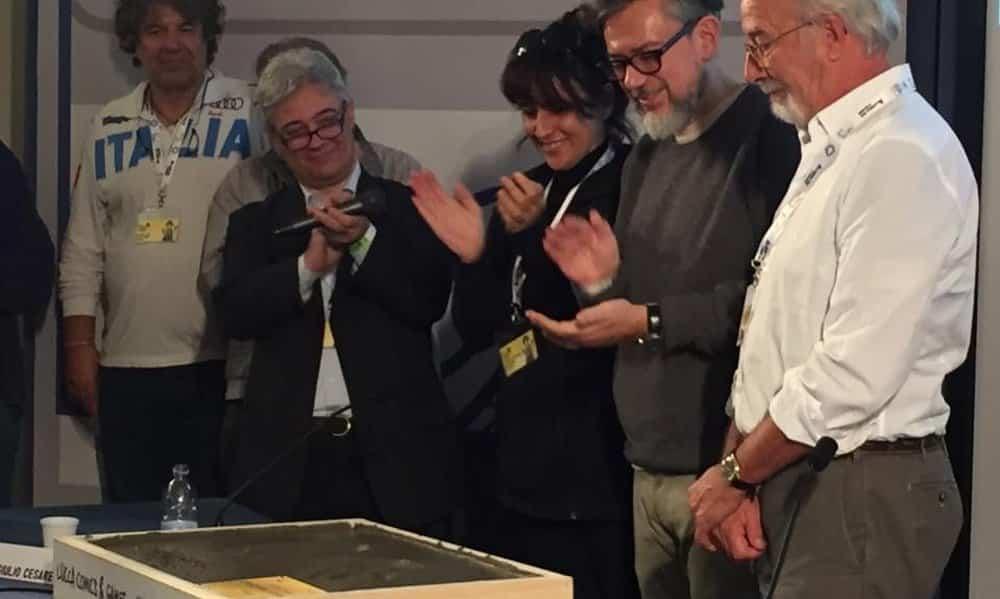 Giorgio Cavazzano: lectio magistralis, Lucca Comics 2016