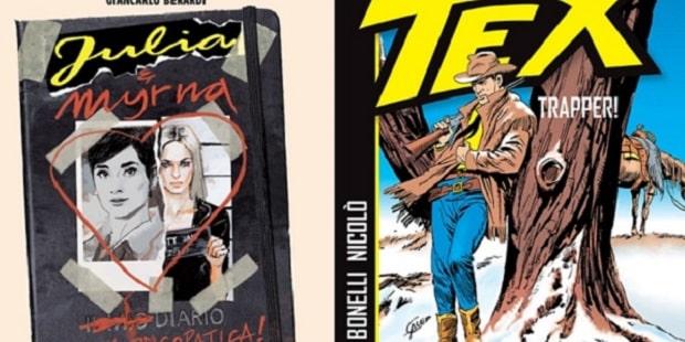 In uscita un volume con le prime storie di Julia e Tex. Trapper!